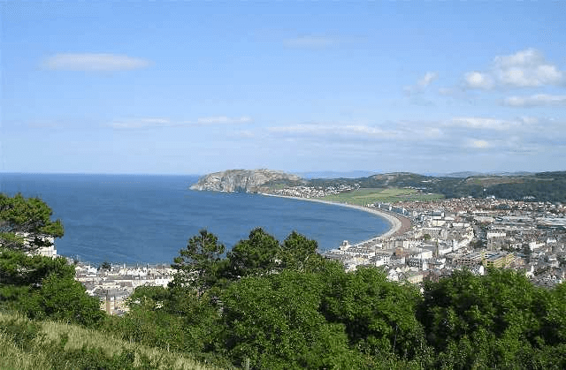 Llandudno Bay from The Great Orme