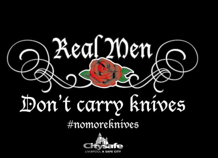 Real Men Don't Carry Knives