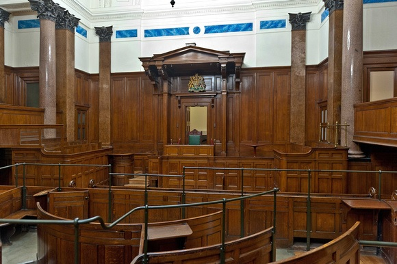 St. Georges Hall Courtroom