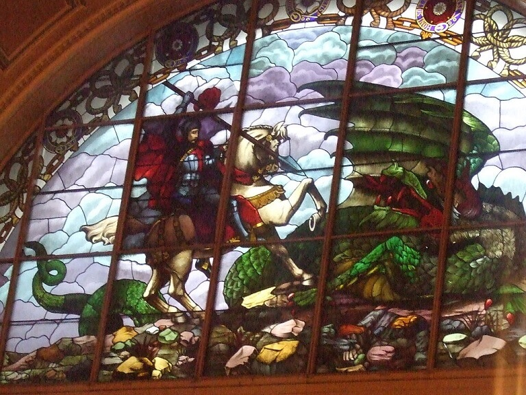 St. Georges Hall Stained Glass